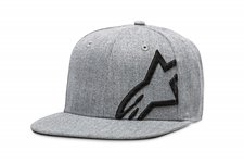 Corp Snap Hat Grau heather Schwarz