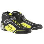 Alpinestars Tech 1-T Shoes Black Yellow Fluo 39