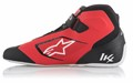 Alpinestars Chaussures Karting Tech 1-KX Noires Rouges Blanches 37