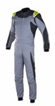 Alpinestars GP Race Suit Mid Gray Anthracite Yellow Fluo