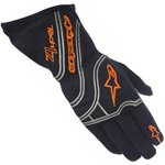 Alpinestars Tech 1-Z Glove Black Orange Fluo L