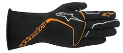 Alpinestars Tech 1-Race Glove Black Orange Fluo L