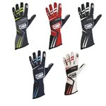 OMP Gloves TECNICA EVO Navy Blue/Cyan L