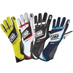 OMP Gloves ONE EVO Navy blue/white/cyan L