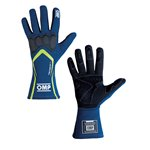 OMP Gloves TECNICA S Blue/Yellow fluo L