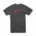 Ageless Classic Tee Black Red L