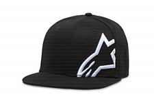 Corp Snap Hat Black White