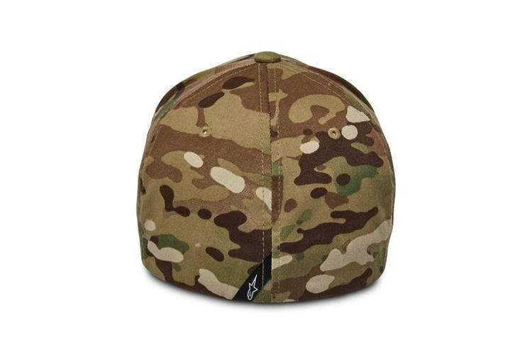 Ride Multicam Hat Grün Orange L/XL