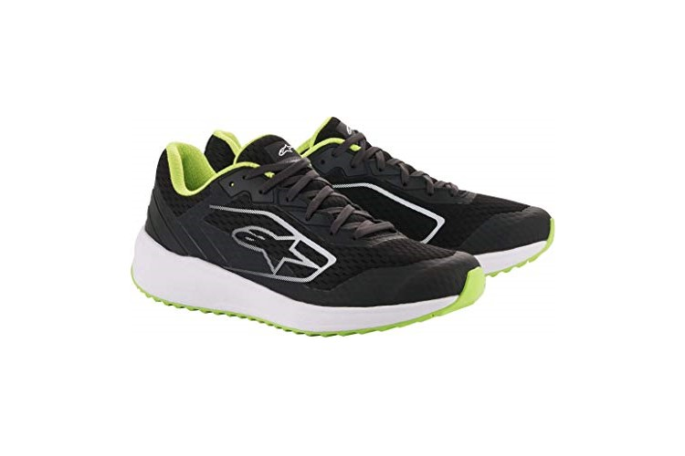 Alpinestars META ROAD Shoes black/white/green