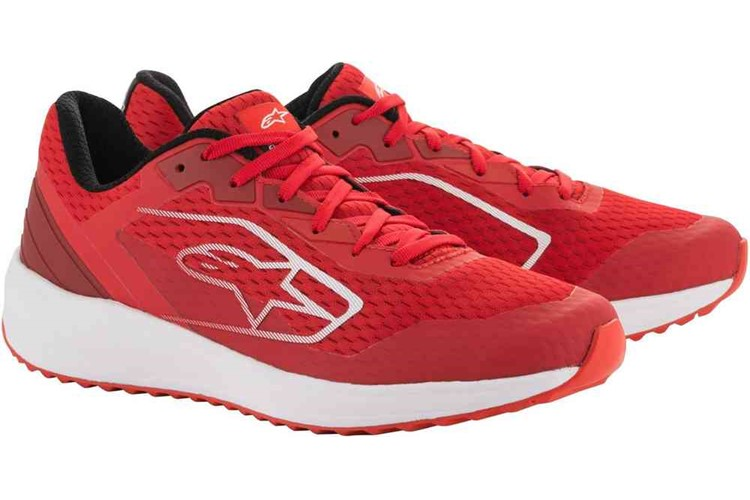 Alpinestars META ROAD Shoes red/white