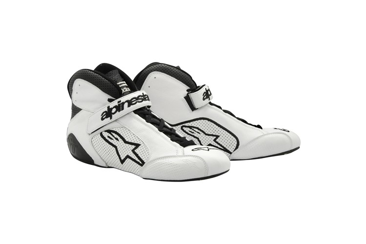 Alpinestars Tech 1-T Shoes White Black 40.5