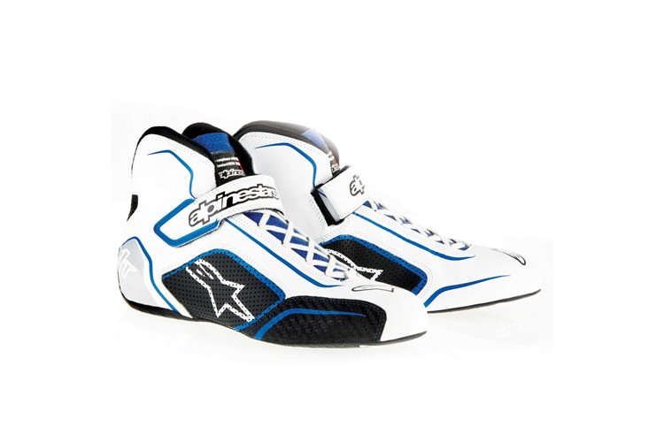 Alpinestars Tech 1-T Shoes White Blue 40.5