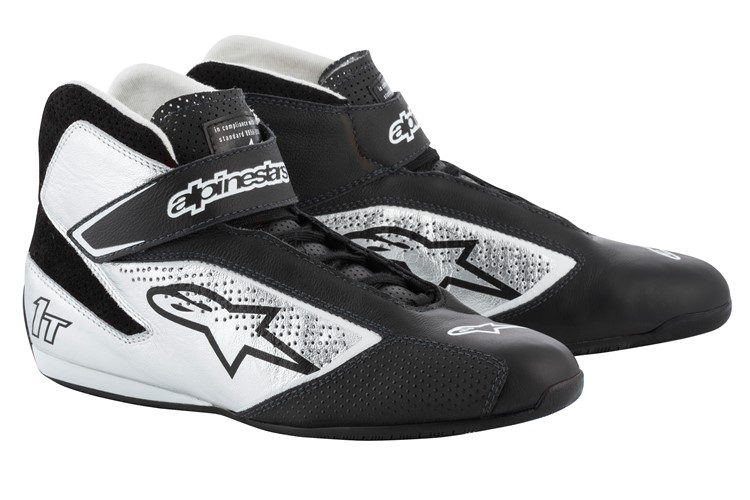 Alpinestars Tech 1-T Shoes Black Silver 39