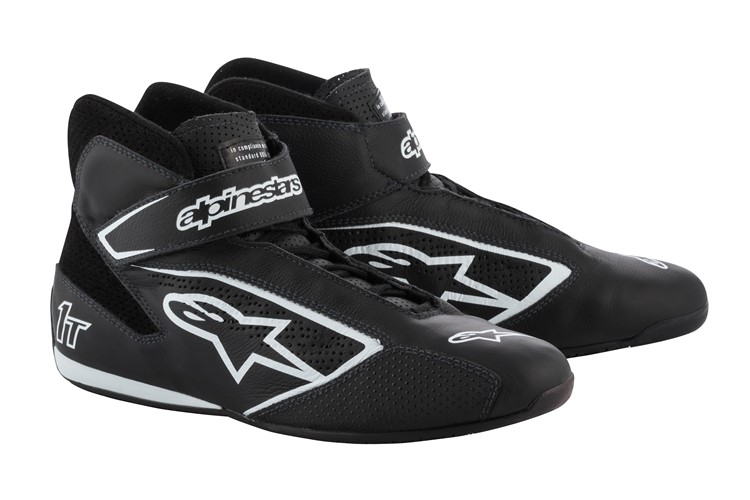 Alpinestars Tech 1-T Shoes Black White 42