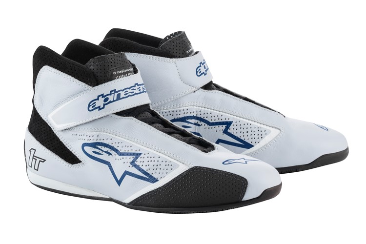 Alpinestars Tech 1-T Shoes Silver Blue 39