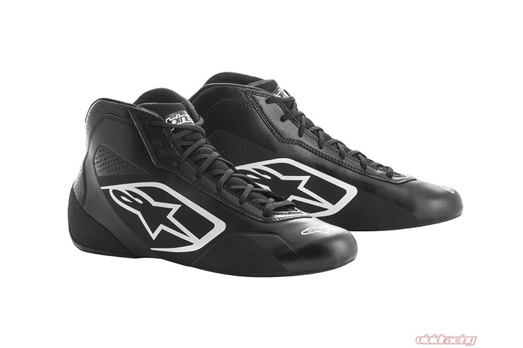 Alpinestars Karting Shoes Tech 1-K Start Black White 38