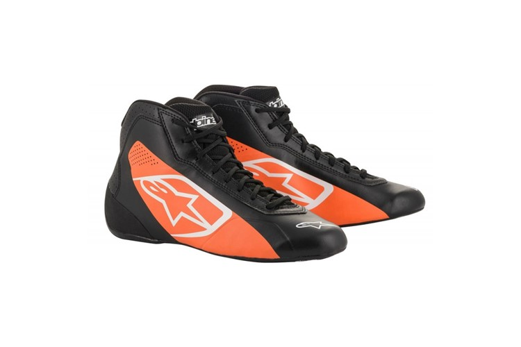 Alpinestars 1-K Start Shoes black/orange fluo
