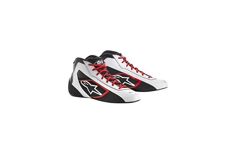 Alpinestars Karting Shoes Tech 1-K Start White Black Red 36