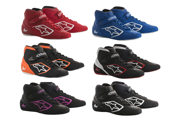 Alpinestars Karting Shoes Tech 1-K Black Fuchsia 36