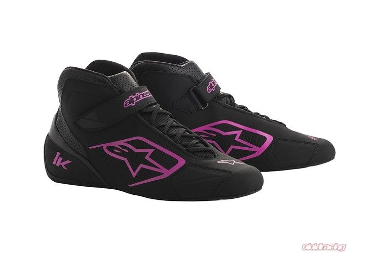 Alpinestars Karting Shoes Tech 1-K Black Fuchsia 42