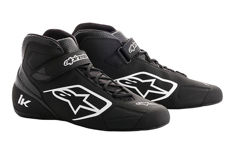 Alpinestars Karting Shoes Tech 1-K Black White 36