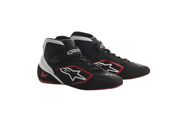 Alpinestars Karting Shoes Tech 1-K Black White Red 37
