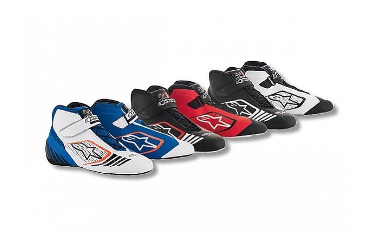 Alpinestars Karting Shoes Tech-1KX Black White 35