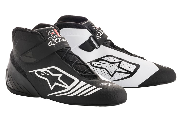Alpinestars Karting Shoes Tech-1KX Black White 40
