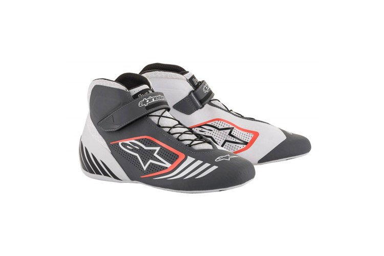 Alpinestars 1-KX  Shoes white/grey/red fluo