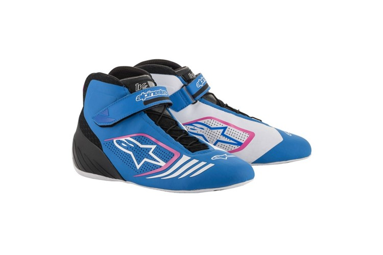 Alpinestars 1-KX  Shoes blue/black/fuchsia
