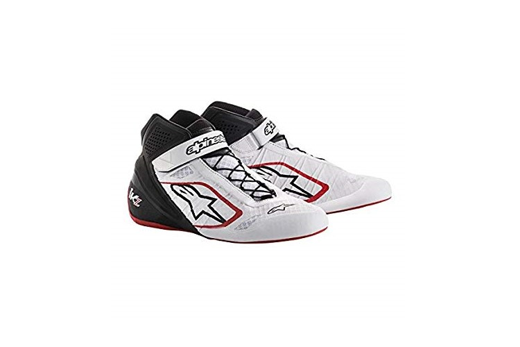 Alpinestars Karting Shoes Tech-1KZ White Black Red 39