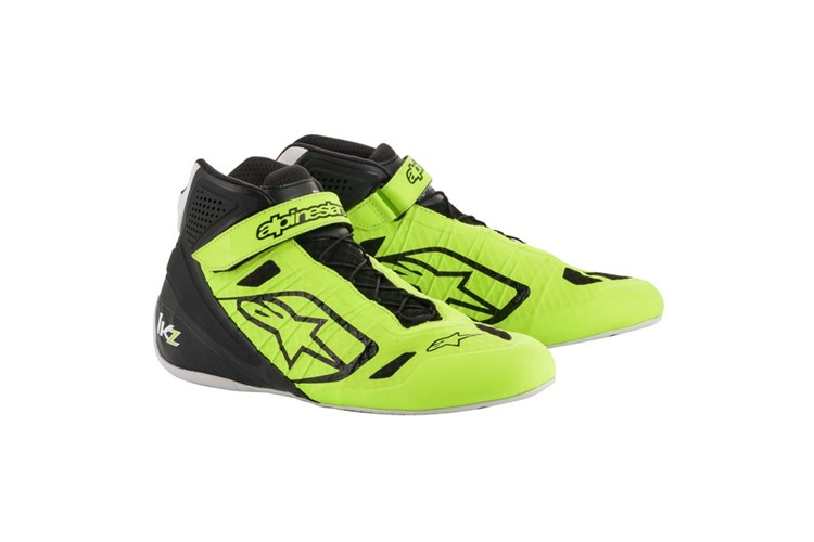 Alpinestars 1-KZ Shoes yellow fluo/black