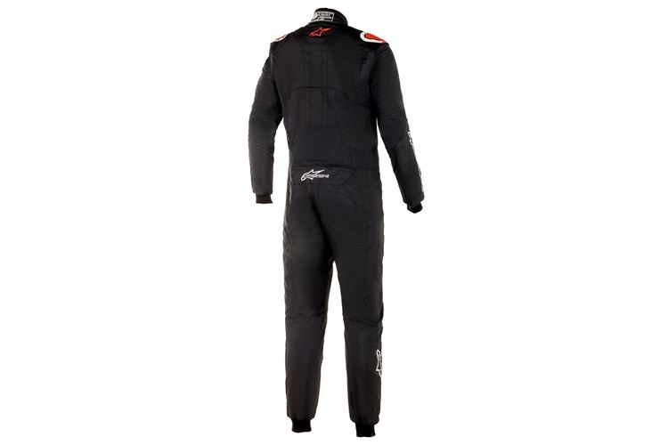 Alpinestars Hypertech V2 Suit Black Red 52