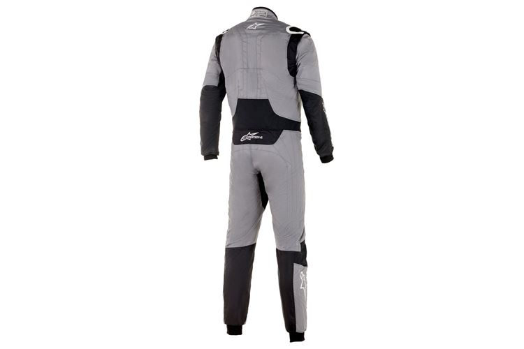Alpinestars Hypertech V2 Suit Mid Gray Black 56