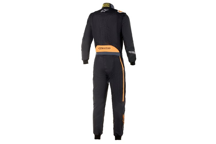 Alpinestars GP Pro Comp Suit Black Orange Fluo 48
