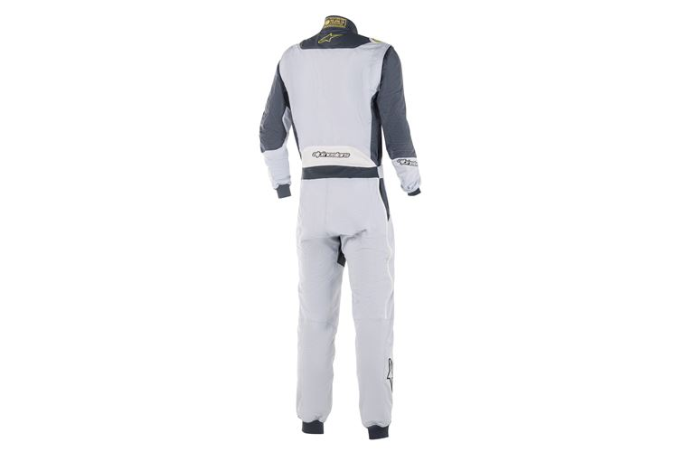 Alpinestars GP Pro Comp suit Silver Blue Asphalt Lime 52