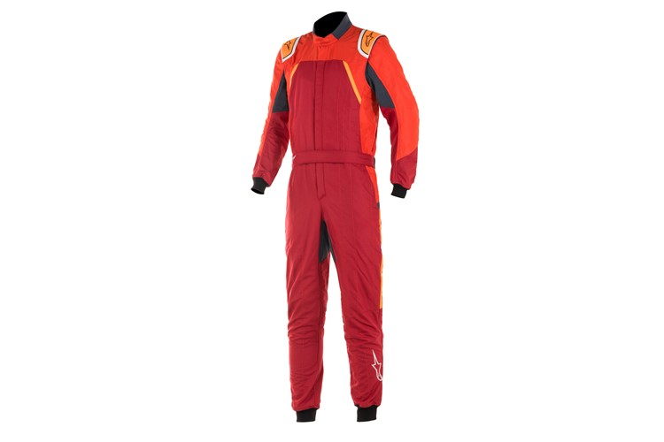 Alpinestars GP Pro Comp suit Scarlet Red Orange Fluo 60
