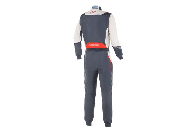 Alpinestars GP Pro Comp suit Asphalt White Red 50