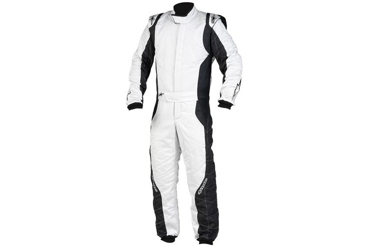 Alpinestars GP Pro Suit Silver Black 56