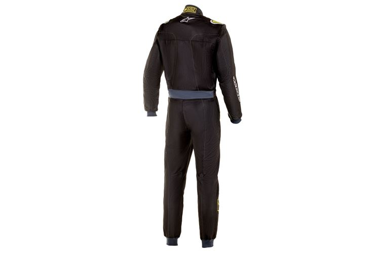 Alpinestars Stratos Suit Black Green Lime 54