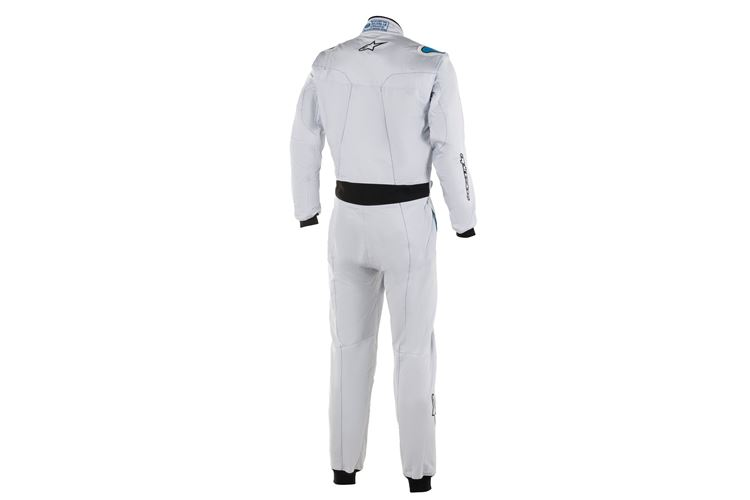 Alpinestars Stratos Suit Silver Blue 64
