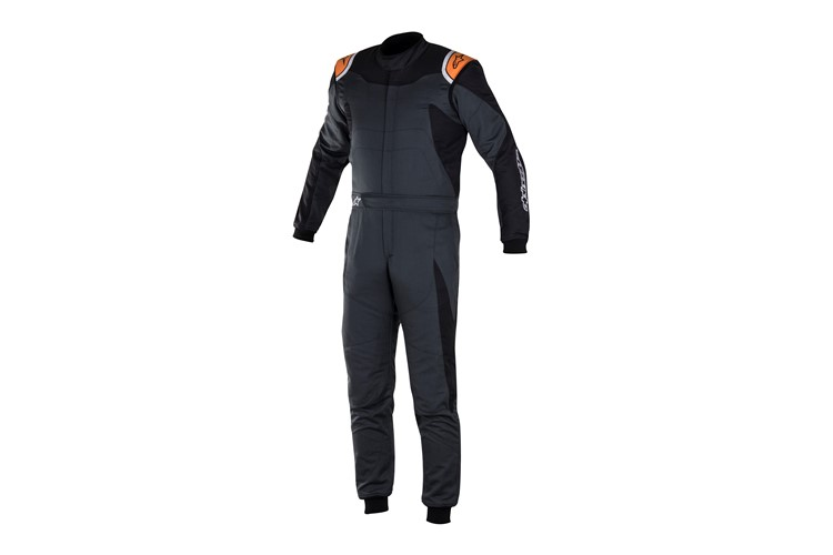 Alpinestars GP Race Suit Anthracite Black Orange