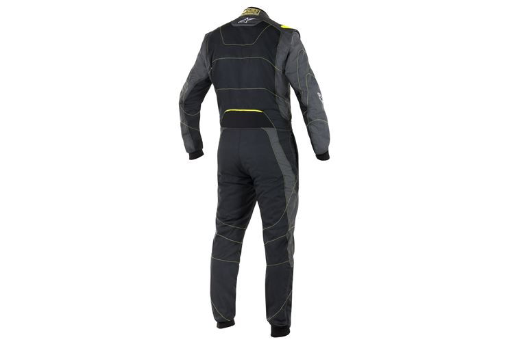 Alpinestars GP Race Suit Anthracite Yellow Fluo 56