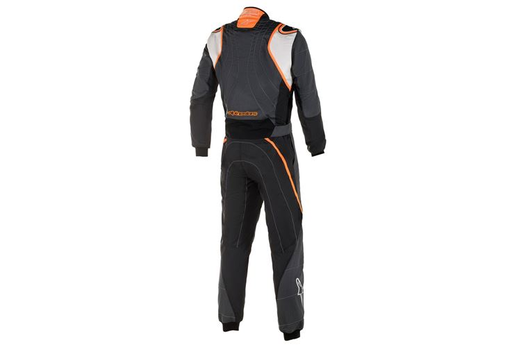 Alpinestars GP Race V2 Suit Anthracite White Orange 58