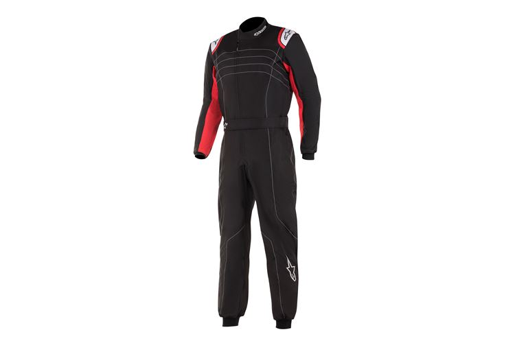 Alpinestars K-MX9 v2 Suit Black Red Fluo 50