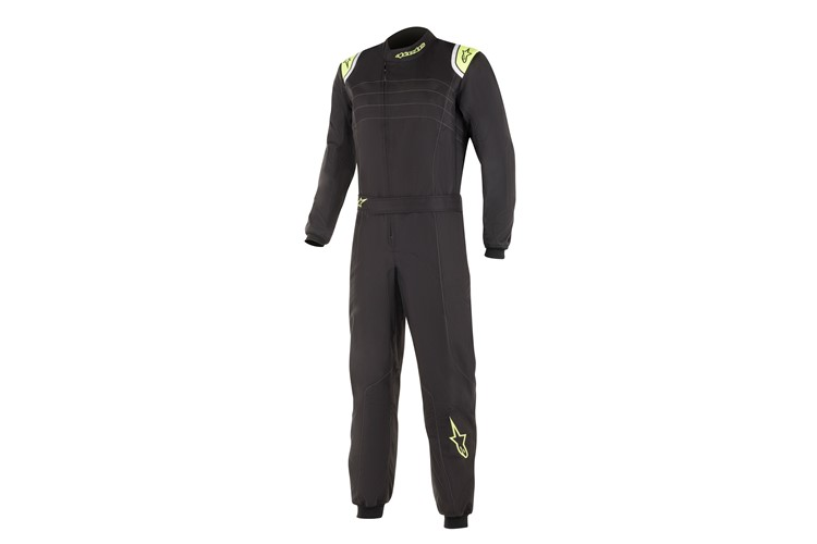 Alpinestars K-MX9 v2 Suit Black Yellow Fluo 60