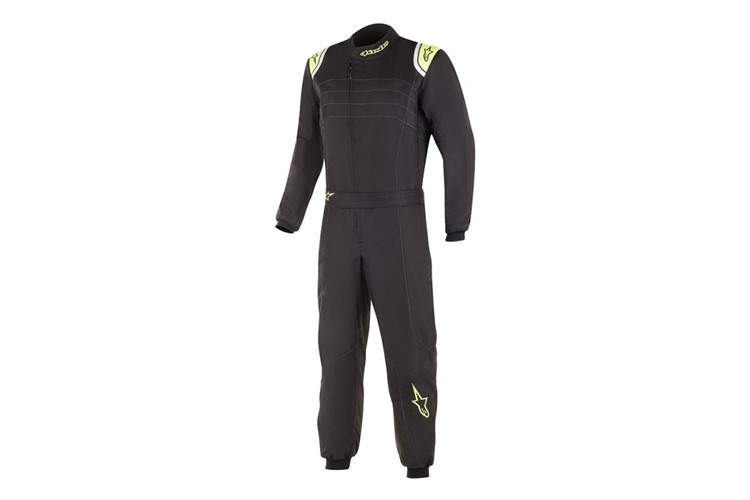 Alpinestars K-MX9 v2 S Suit Kids Cobalt Black Yellow Fluo 120