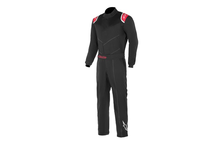 Alpinestars Kart Indoor Suit Black Red XXXL