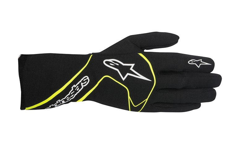 Alpinestars Tech 1-Race Glove Black Yellow Fluo
