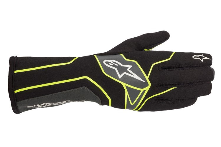 Alpinestars 1-K V2 Glove black/yellow flou/anthracite
